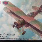 Gloster Gladiator byggesett